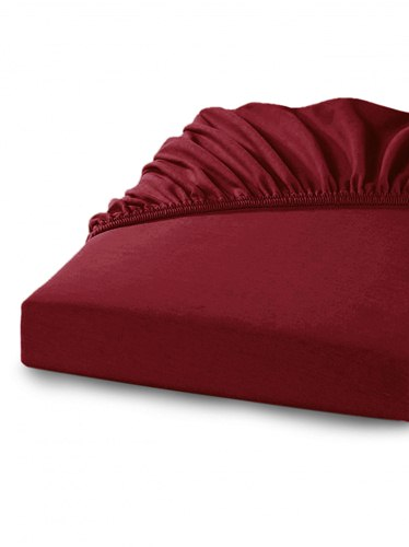 Простыни Percale Fitted Бордовый (red-wine)