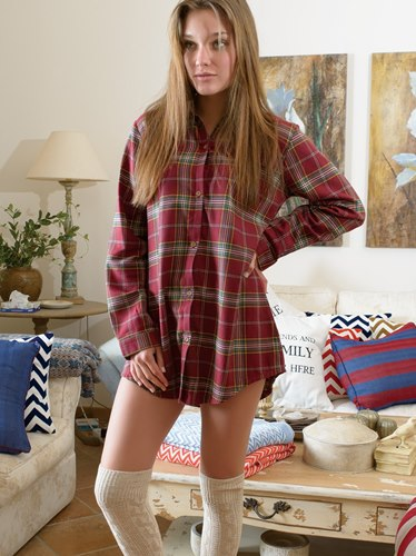 Lilly Flannel Tunic